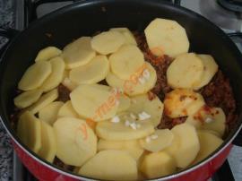 Kıymalı Patates Yemeği